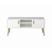 Televizní stolek Ramon - bílý