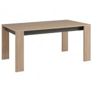 Jídelní stůl Celine - dub/šedý