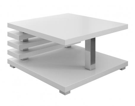 Konferenční stolek GLEN bílá lesk