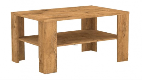 Konferenční stolek s poličkou REA 3v - lancelot