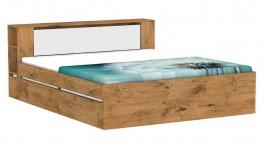 Manželská postel REA Amy 31/180 - lancelot - výběr čela a lišt