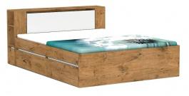 Manželská postel REA Amy 31/160 - lancelot - výběr čela a lišt