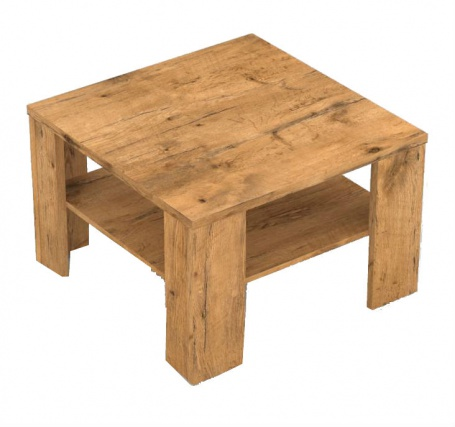 Čtvercový konferenční stolek REA 4