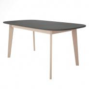 Jídelní stůl Sissa - dub/šedá