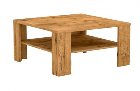 Čtvercový konferenční stolek s poličkou REA 5 - lancelot