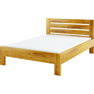 Masivní postel 160x200cm ACC 06 - výběr moření