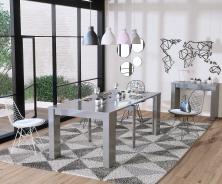 Jídelní stůl s rozkládáním Penny - šedá