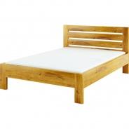 Masivní postel 180x200cm ACC 06 - výběr moření