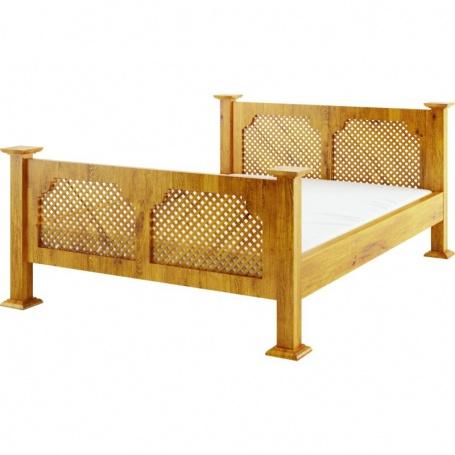 Rustikální postel ACC08