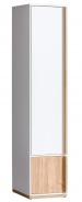 EVADO E2 skříň bílá/ořech