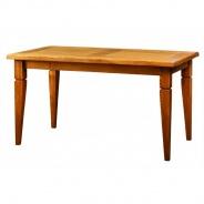 Jídelní selský stůl masiv 90x160 MES 03B - výběr moření