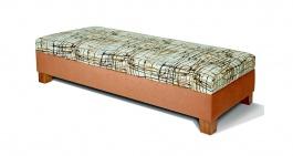 Čalouněná postel Erika bez čela - výběr potahů