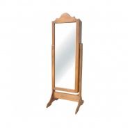 Stojací zrcadlo z masivu TOL 01 - výběr moření