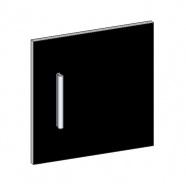 Dvířka k regálu MODUS M-DOOR černá