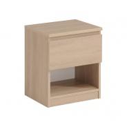 Noční stolek Magic 1S - dub brooklyn