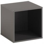 Regál/box Cubi - šedá