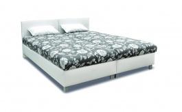 Čalouněná postel s roštem a matrací PETRA - výběr potahů