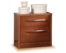 Noční stolek z masivu 2S - výběr odstínů