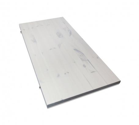 Přídavná deska k jídelnímu stolu Monaco - bílá