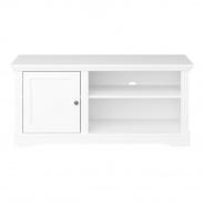 TV stolek Florencie - bílý