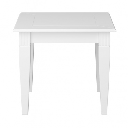Odkládací stolek Florencie - bílý