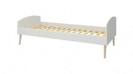 Dětská postel Soft 90x200cm - bílá