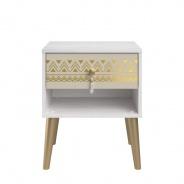 Noční stolek Jasmína - borovice peterson