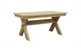 Masivní jídelní stůl 180x100cm DUB 01 - dub