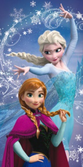 Osuška Frozen magic 70x140cm