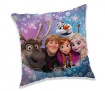 Polštářek Frozen family 40x40cm