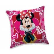 Polštářek Minnie hearts 40x40cm