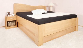 Manželská postel s úložným prostorem K-design 1 - 160x200cm