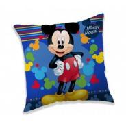 Polštářek Mickey blue 40x40cm