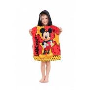 Pončo s kapucí Mickey star