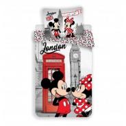 Povlečení Mickey a Minnie v Londýně