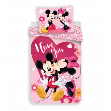 Povlečení Mickey a Minnie in love micro