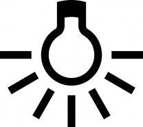 Osvětlení ke kolekci Vulcano jednobodové