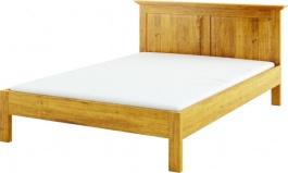 Masivní postel 160x200 ACC 01 - výběr moření