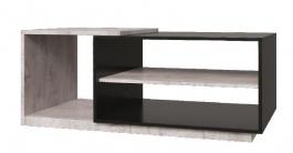 Konferenční stolek Vulcano - dub / černá