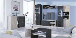 Obývací pokoj Vulcano E - výběr odstínů