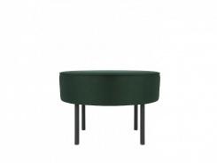 Čalouněný taburet/stolek Lafu H - zelený