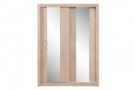 Šatní skříň Angelika se zrcadlem III - dub sonoma