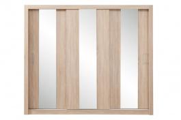 Šatní skříň Angelika se zrcadlem I - dub sonoma