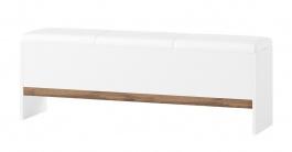 Lavice LIVORNO 65 dub wotan / bílá