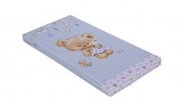 Dětská matrace do postýlky Scarlett Grisi 60x120cm - modrá