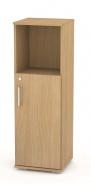 Nízká kombinovaná skříňka REA Office 30 + D2 (1ks) - buk - výběr dvířek