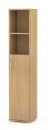 Úzká kombinovaná skříňka REA Office 50 + D3 (1ks) - buk - výběr dvířek