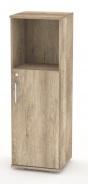 Nízká kombinovaná skříňka REA Office 30 + D2 (1ks) - dub canyon - výběr dvířek