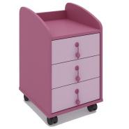 Šuplíkový mobilní kontejner Aurora - výběr odstínů