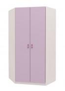 Rohová šatní skříň Aurora - výběr odstínů